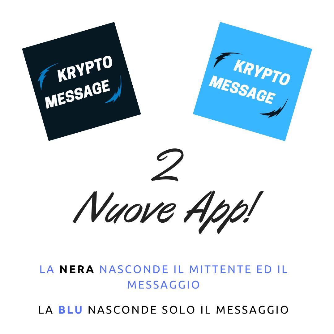 2 Nuove App!
